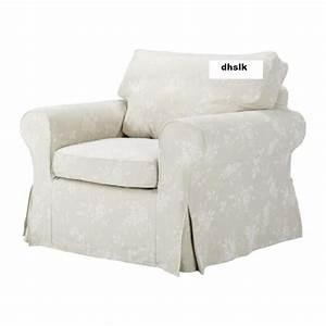 Ikea Bezug Sofa : ikea ektorp armchair cover redeby beige slipcover floral bezug ~ Michelbontemps.com Haus und Dekorationen