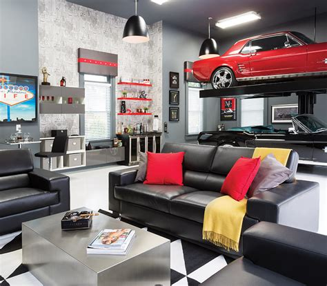 garage cave room envy a briarcliff garage becomes an upscale cave