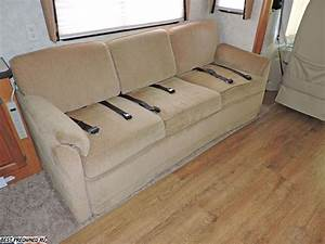2007 monaco knight 40 dft With rv sofa bed with seat belts
