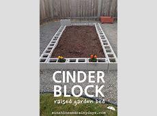 How to Build a Cinder Block Raised Garden Bed Sunshine