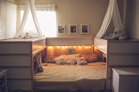 mom hacks ikea beds creating a superbed that fits all 7