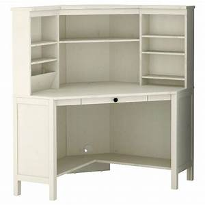 White Ikea Corner Desk  reserved white ikea borgsj corner