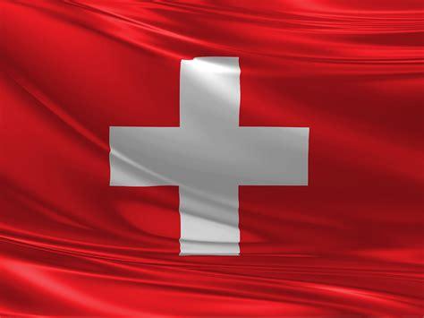 die flagge der schweiz  hintergrundbild