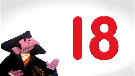 Sesame Street the Number 18 - Bing images