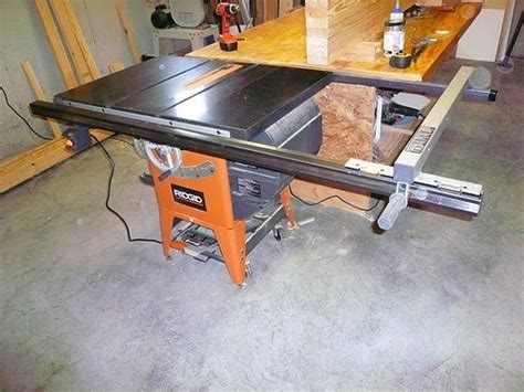 ridgid table  fence upgrade brokeasshomecom