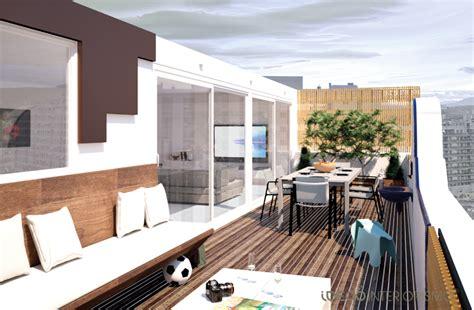 decoracion terrazas en aticos de moda