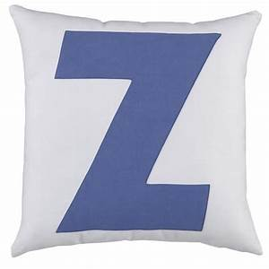 abc quotzquot pillow With letter z pillow