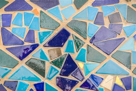 mosaic tiles of colorful abstract mosaic tiles abstract