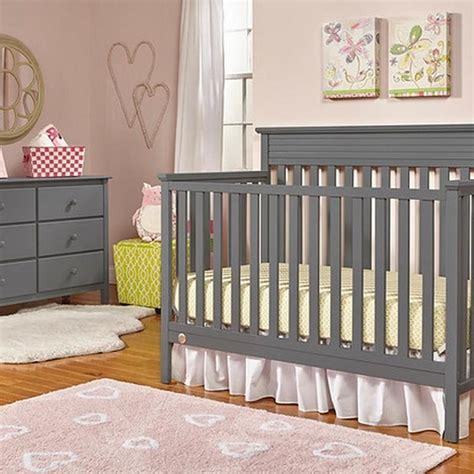fisher price newbury crib fisher price newbury convertible crib grey