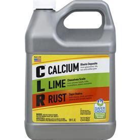 shop clr  fl oz rust remover  lowescom