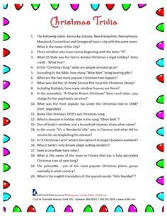 christmas trivia questions images christmas