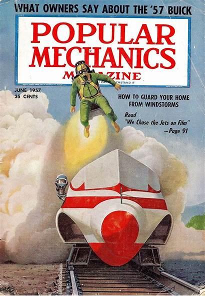 Popular Mechanics Future 1957 June 1940 September