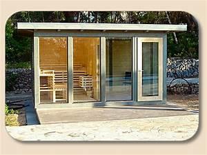 82 besten gartenhaus sauna bilder auf pinterest sauna With französischer balkon mit sauna bauen garten