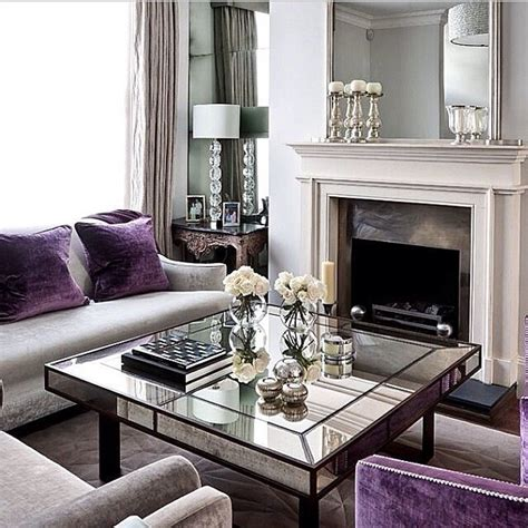 Grey And Purple Living Room Furniture by 25 Best Ideas About Purple Grey Rooms On
