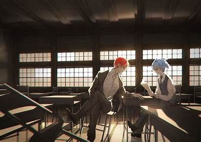 Karma Classroom Assassination Nagisa Akabane Shiota Anime