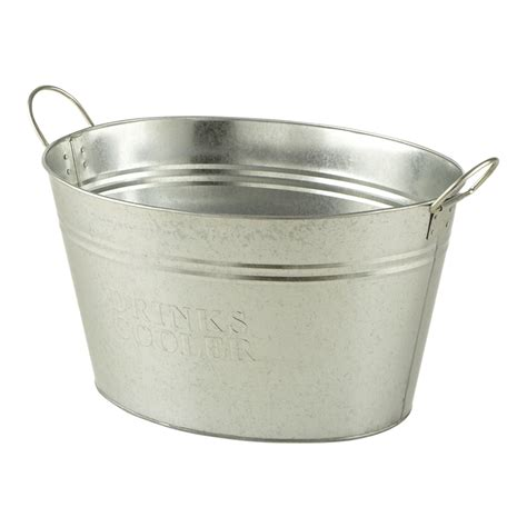 cooler tubs for drinks marquee 30l galvanised drinks cooler bunnings