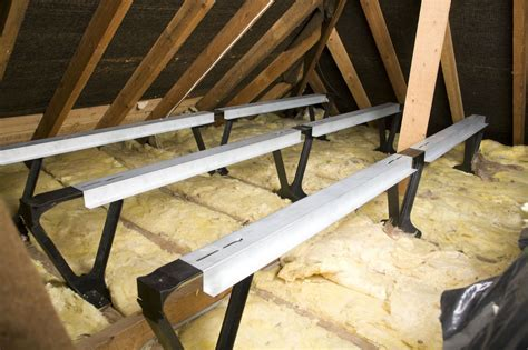 Loft insulation spacers and beams   alternative to loft