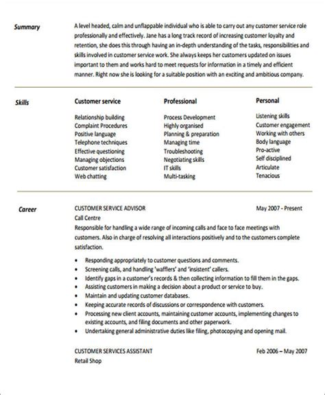 generic resume objective  examples  word