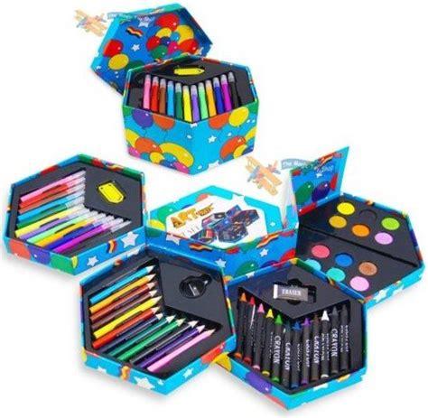 52 pcs craft art artists paints pens pencils set great