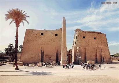 Ancient Historical Temple Egypt Brought Glory Buildings