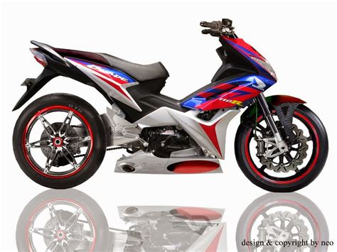 Balap Modifikasi by Supra X 125 Modifikasi Balap Thecitycyclist