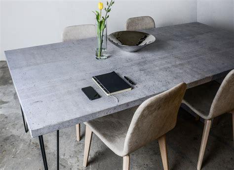 tisch aus beton tisch aus beton indoo haus design