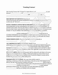 trucking contract template independent contractor With legal documents delivered