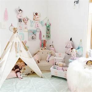 Teppich Für Mädchenzimmer : hippy tipi zauberhafter m dchenraum in mint rosa teppich ber ~ Sanjose-hotels-ca.com Haus und Dekorationen