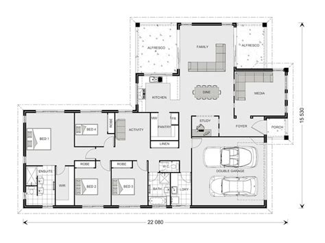images  house plan  pinterest house