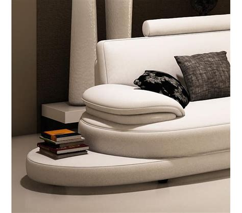 contemporary italian leather sectional sofas dreamfurniture com 954 contemporary italian leather
