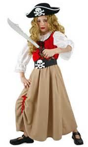 costume mariage enfants fille pirate