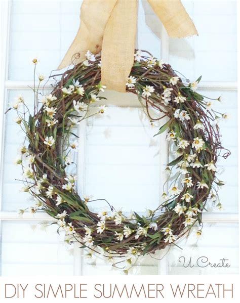 easy diy wreaths summer wreath tutorial easy u create