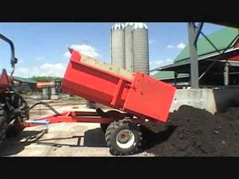 ton farm dump trailer youtube