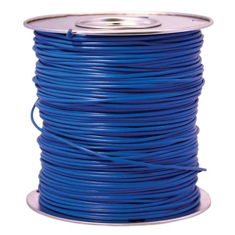 southwire 1000 ft 14 blue stranded cu gpt primary auto wire 55669424 the home depot