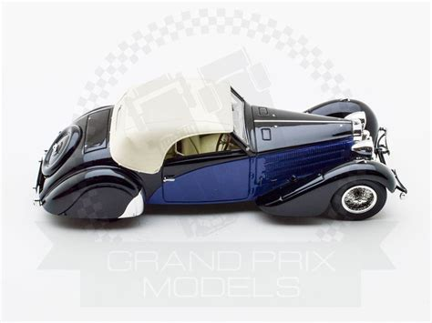 Symbolic motor car company, 7440 la jolla blvd. Bugatti T57 Cabriolet 1935 Stelvio Serie 2 Blue/Black by Carbone