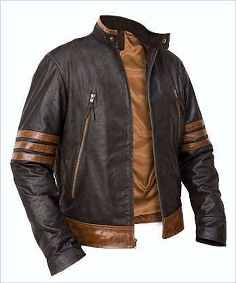custom kulit x wolverine origins logan biker leather jacket all