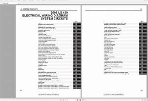 Lexus Ls430  2006   Usa  Electrical Wiring Diagram