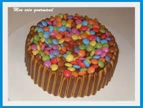 decoration gateau chocolat anniversaire fille