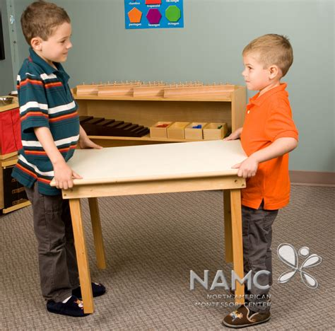 an emphasis on functionality within the montessori