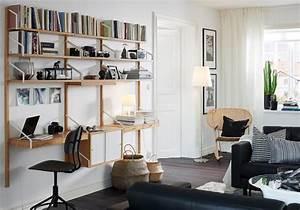 Mur Tv Ikea : rangements murs elle d coration ~ Teatrodelosmanantiales.com Idées de Décoration