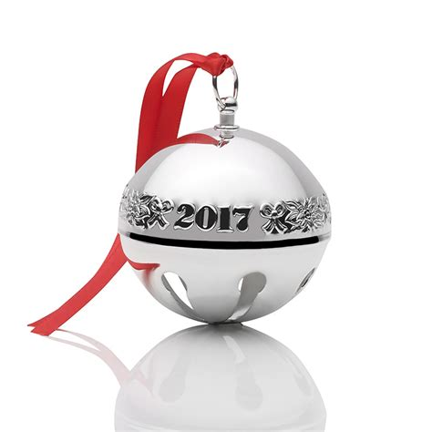 2017 wallace sleigh bell 2017 christmas ornament