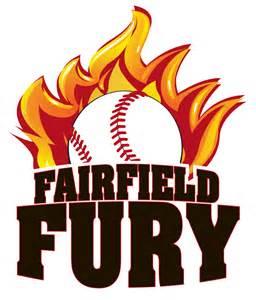 Team Fury Softball Logo