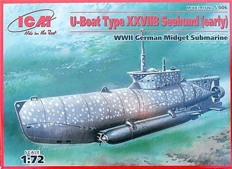 U Boat Xxviib Seehund by U Boot Typ Xxviib Seehund Fr 252 H Icm 1 72