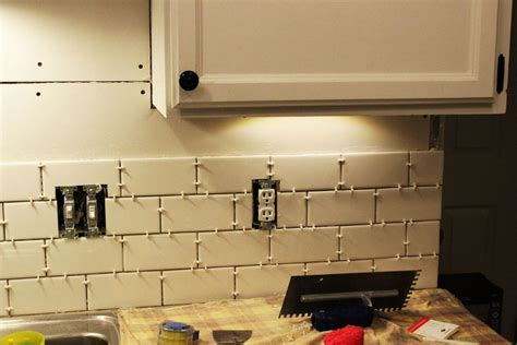 how to install a kitchen backsplash budget kitchen makeovers ideas and