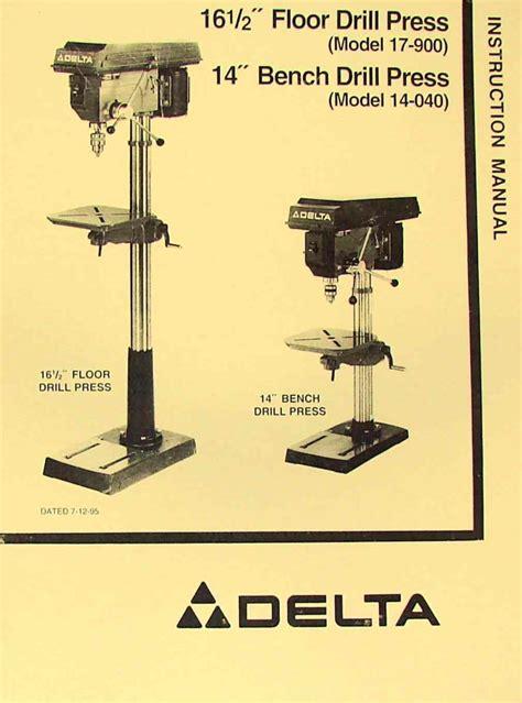 delta rockwell      drill press operator