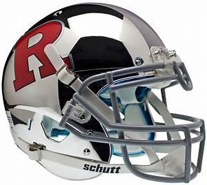 Schutt Rutgers Scarlet Knights Replica Alt 4 Football ...