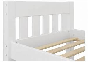 Futonbett 100x200 Weiß : futonbett einzelbett wei 100x200 massivholzbett kiefer jugendbett w or ebay ~ Markanthonyermac.com Haus und Dekorationen