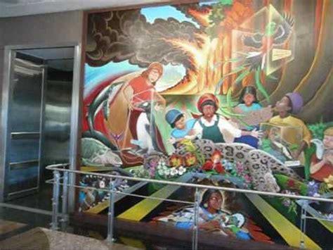 denver airport mural youtube