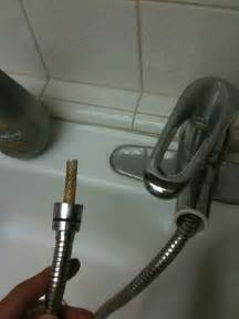 my kitchen faucet is leaking plumbing why does my replacement pull out kitchen faucet sprayer leak home improvement