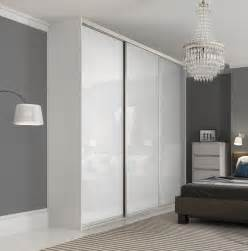 premium midi single panel sliding wardrobe doors  pure